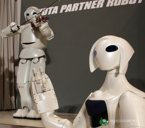 Toyota presents the robots of the future!